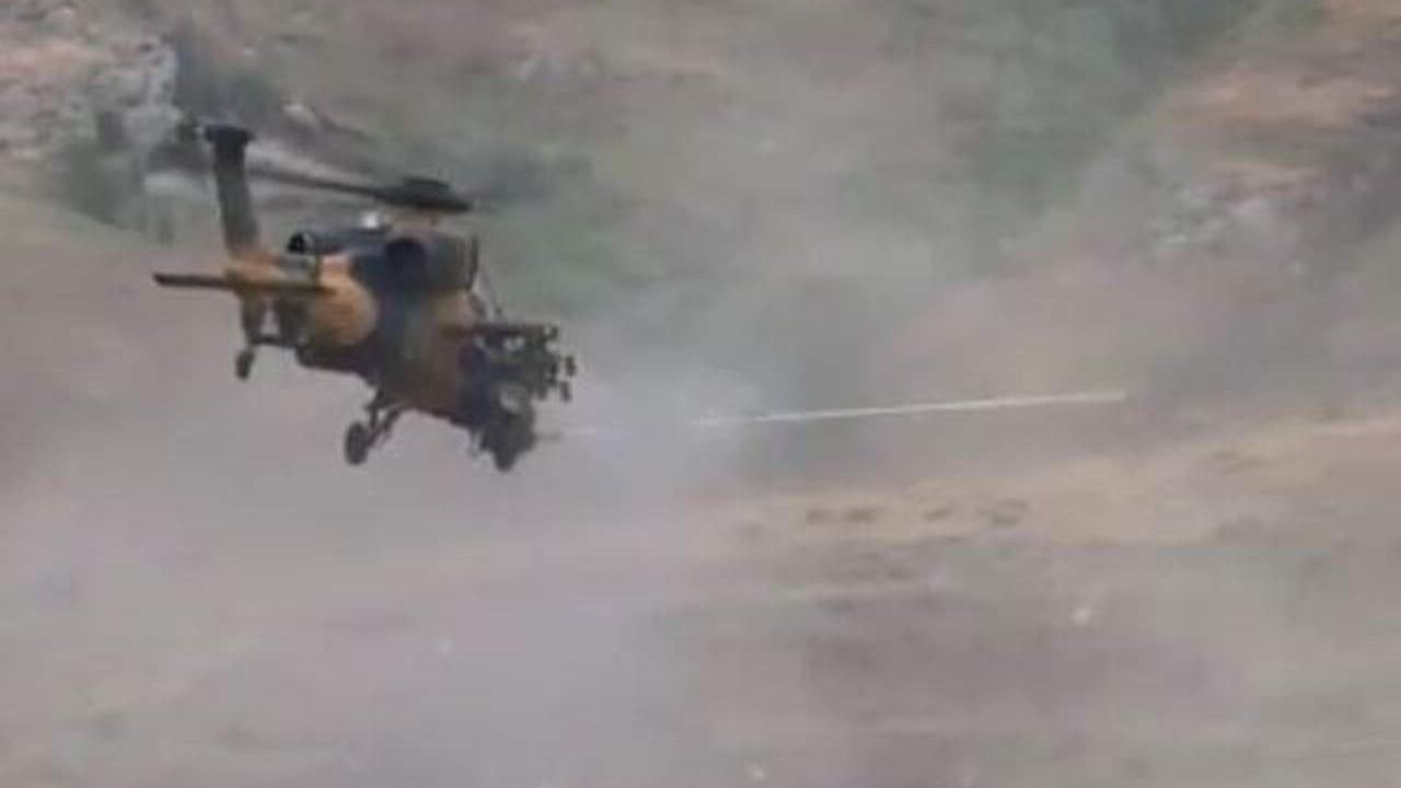 Türkiye'nin gururu ATAK iş başında: 3 PKK'lı öldürüldü!