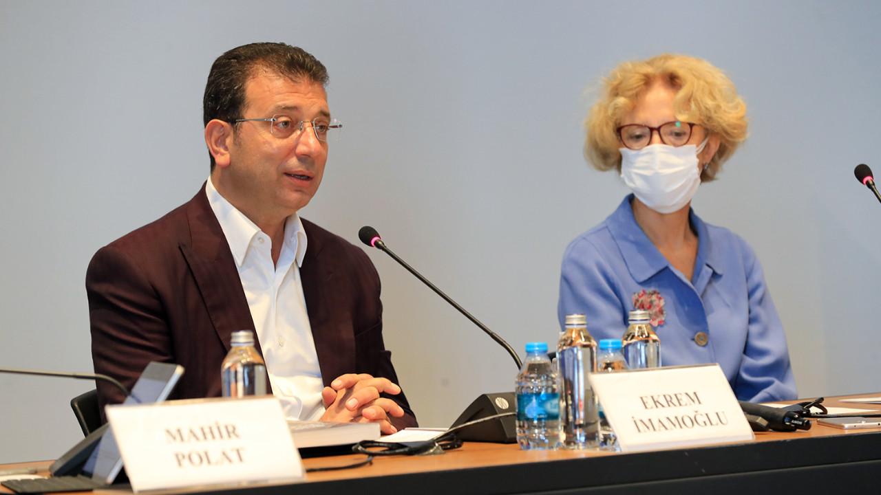 İmamoğlu: ''İstanbul, kültür-sanatın buluşma noktası olacak''