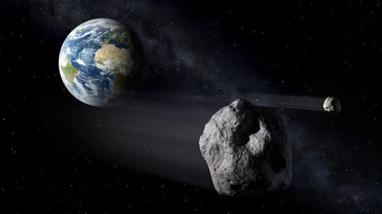 NASA duyurdu: Göktaşı Dünya'nın yakınından geçti