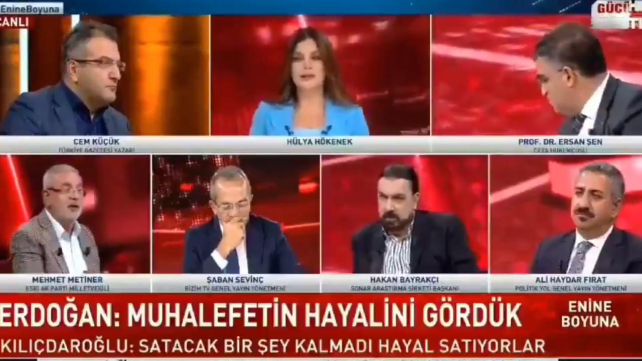 AK Partili Metiner'den canlı yayına damgasını vuran ''memur matematik hesabı''