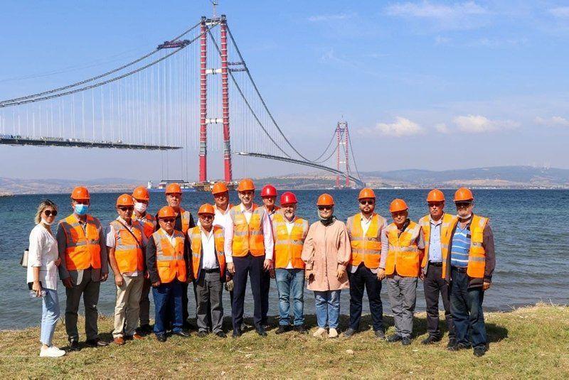 1915 Çanakkale Köprüsü'nden ilk onlar geçti - Resim: 2