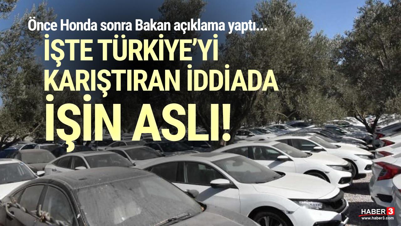 Türkiye'yi karıştıran ''otomobil stoğu'' fotoğrafı için Bakanlık'tan açıklama geldi