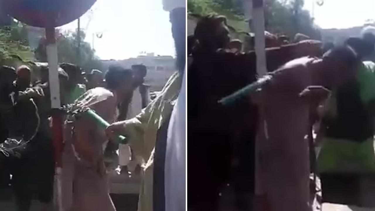 Taliban, hırsızlık yapan kişiyi böyle cezalandırdı