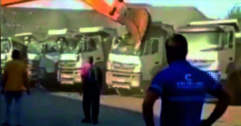 5 kamyonu hurdaya çevirmişti... Firma sahibinden akıllara durgunluk veren açıklama - Resim: 3