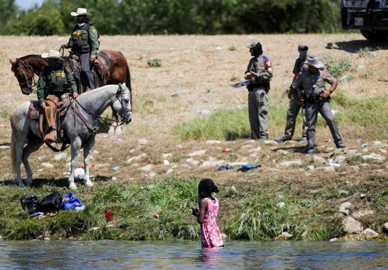 ABD-Meksika sınırında insanlık dışı görüntüler - Resim: 2
