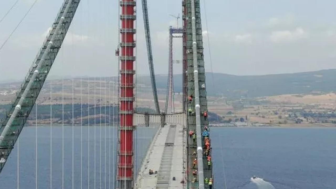 1915 Çanakkale Köprüsü'nde tarihi anlar: Çanakkale Köprüsü üzerinden Anadolu'dan Avrupa'ya geçti