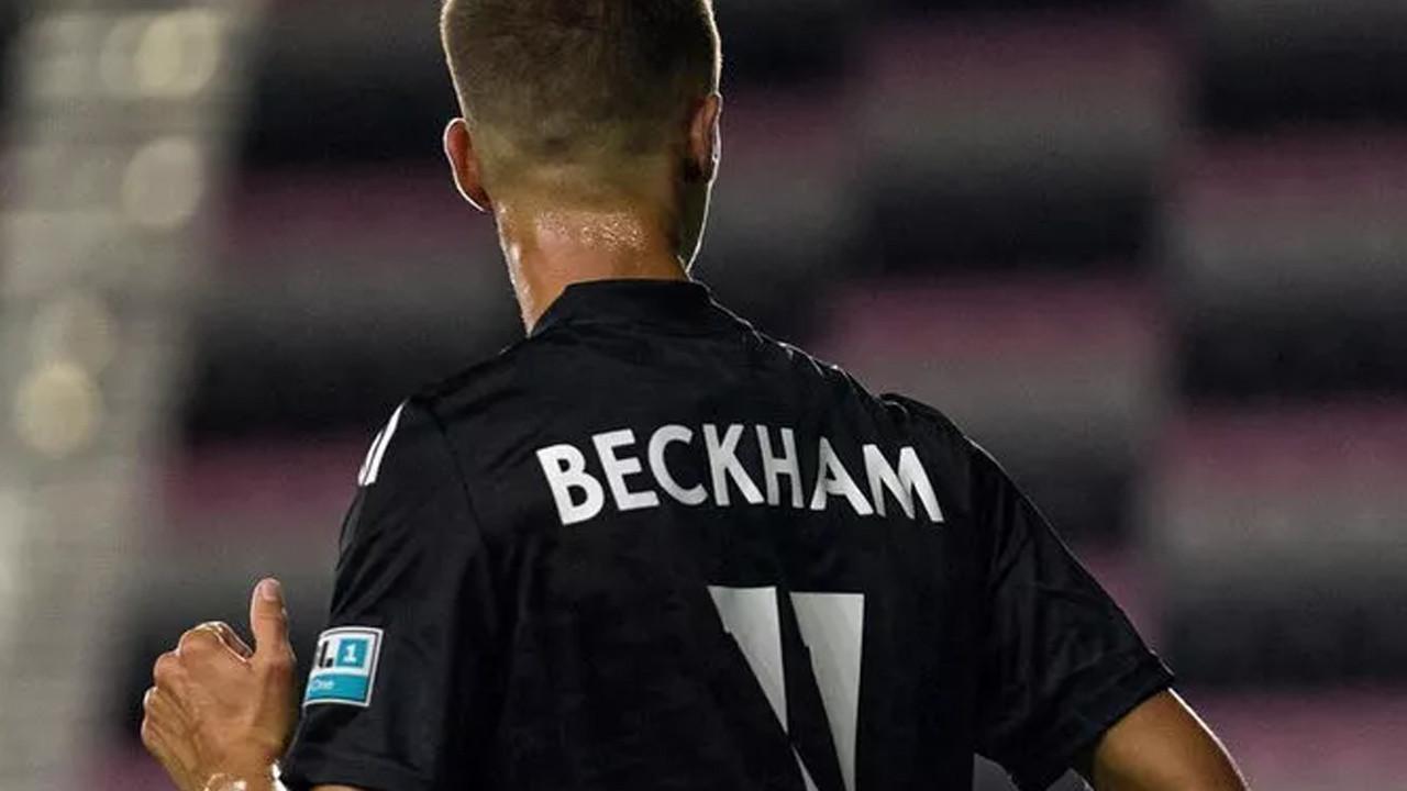 David Beckham'ın oğlu Romeo Beckham ilk maçına çıktı