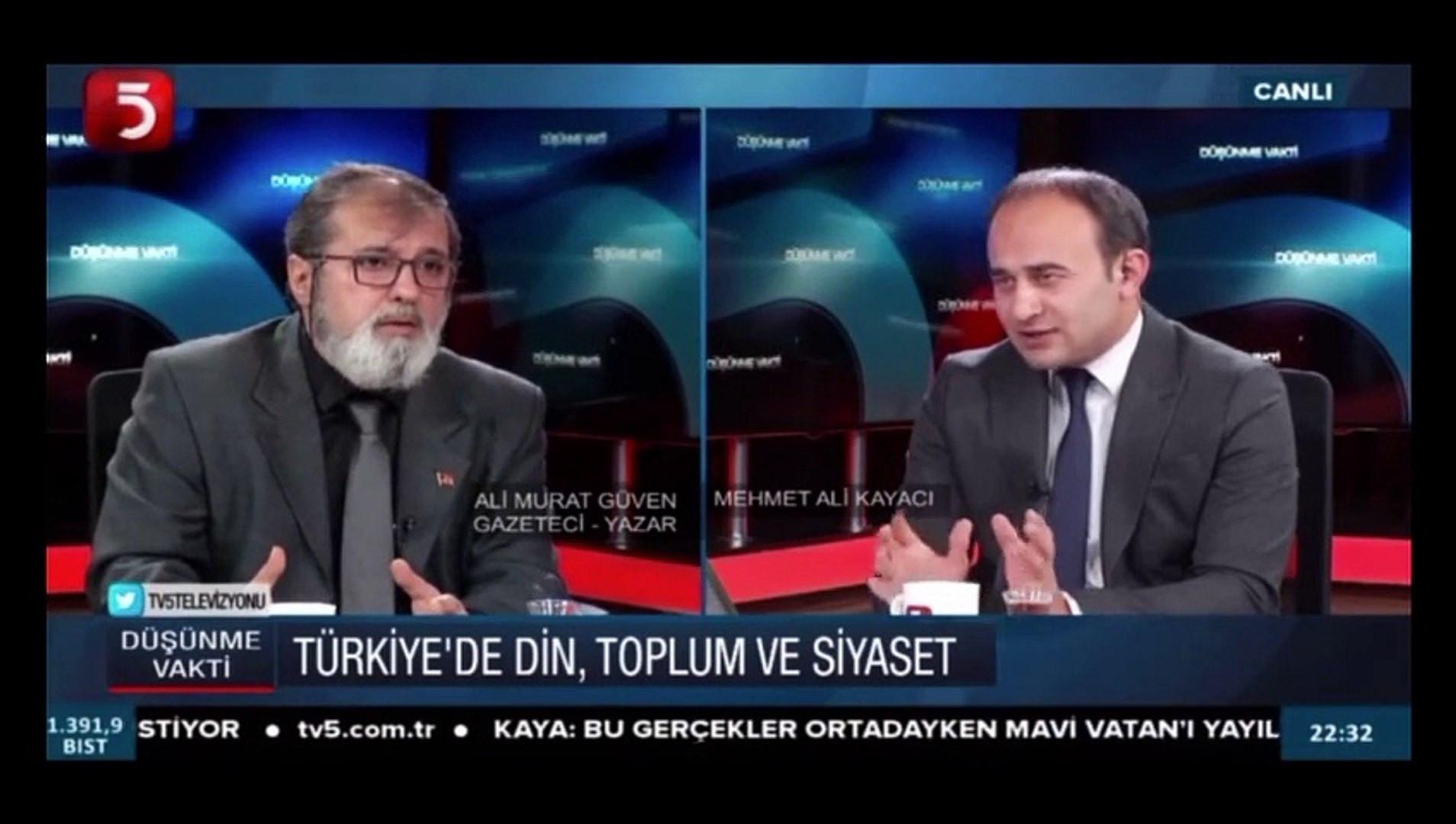 Erdoğan'ın metin yazarı ''pişmanım'' dedi