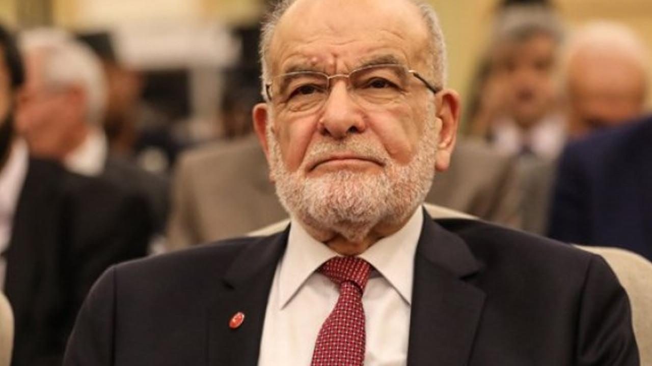 Karamollaoğlu'ndan ''tek aday'' açıklaması