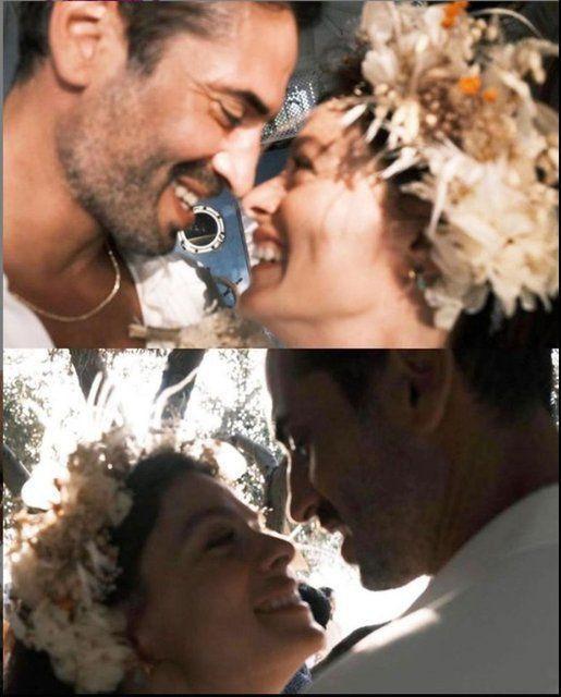 Özge Özpirinçci ile Burak Yamantürk'ün nikah fotoğrafları ortaya çıktı - Resim: 3