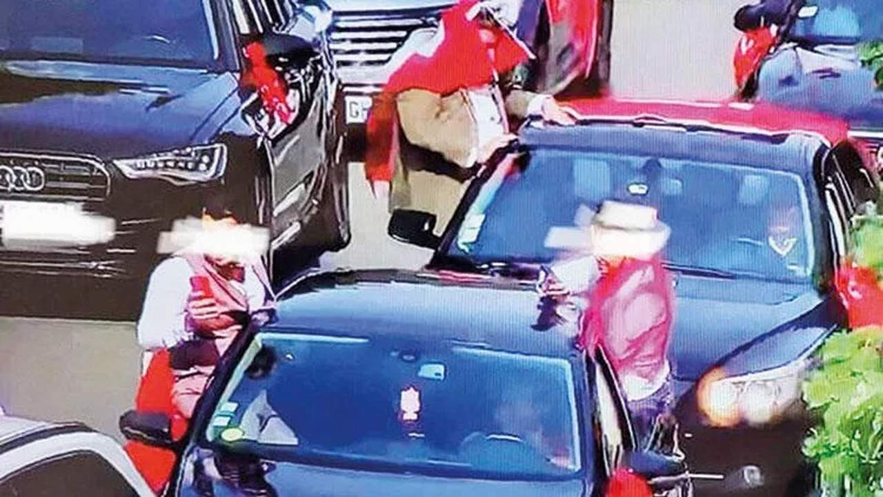 Gurbetçi Türklere ''düğün konvoyu'' cezası