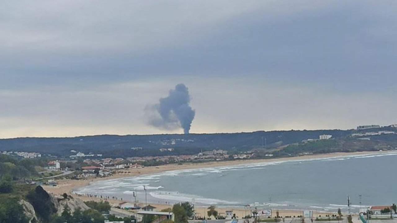 İstanbul'da fabrikada art arda patlamalar