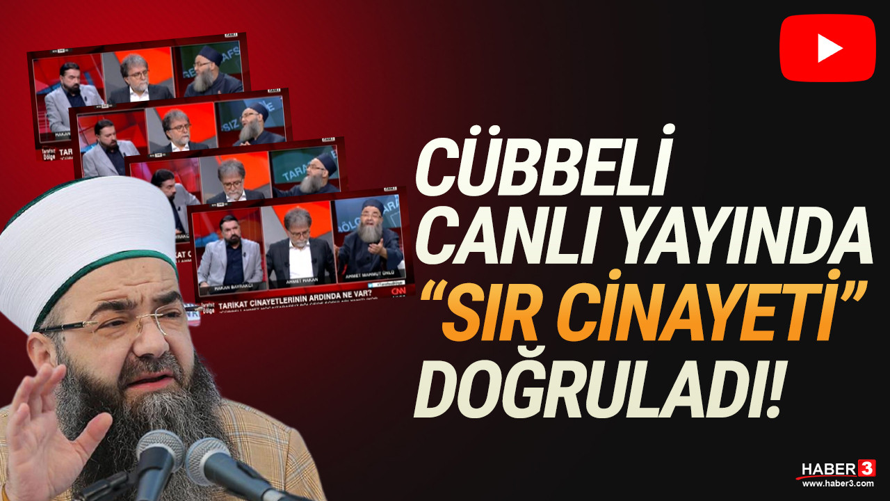 Cübbeli Ahmet ''sır cinayeti'' canlı yayında kabul etti