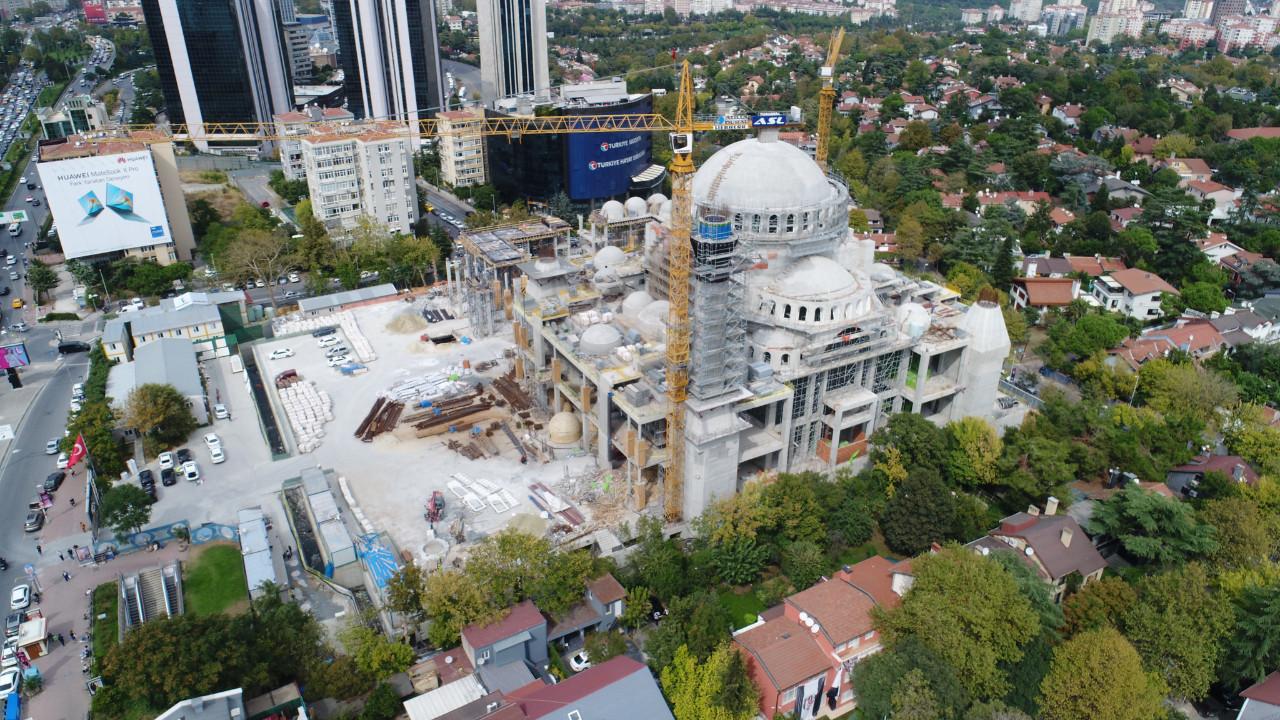 Barbaros Hayrettin Paşa Camii'nin yüzde 95'i tamamlandı