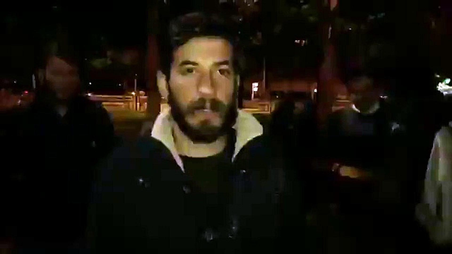 Barınamayan öğrencilerin eyleme devam ediyor: Kocaeli'nde polisten müdahale