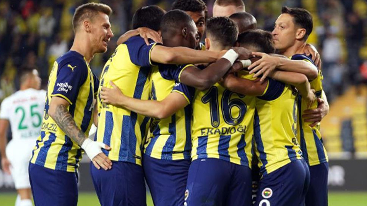 Fenerbahçe'den Kadıköy'de kritik 3 puan