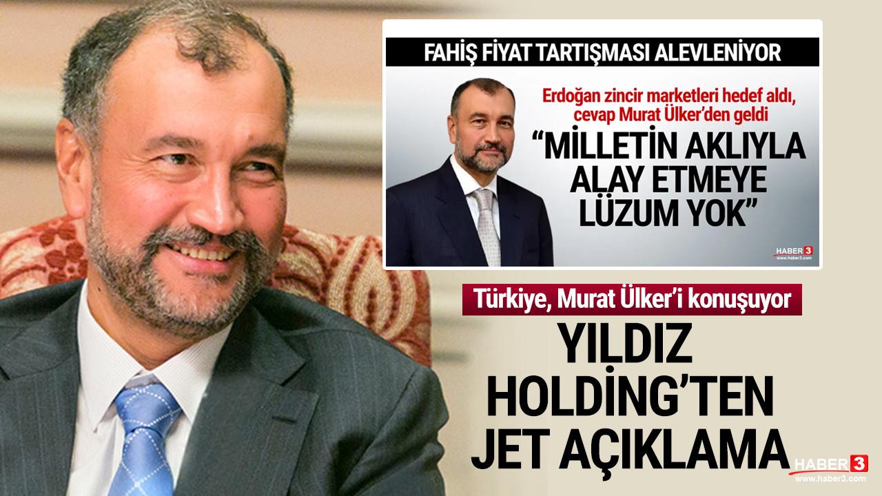 Yıldız Holding'ten Murat Ülker açıklaması