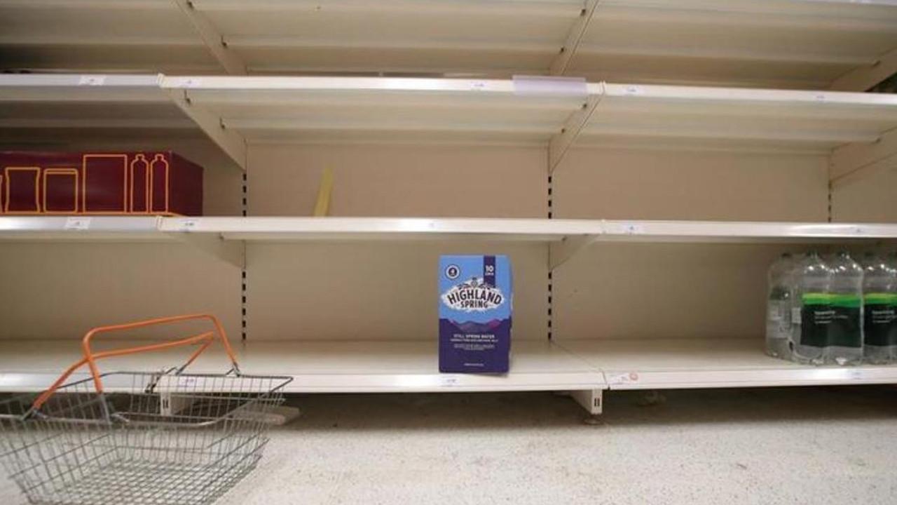 Tedarik zinciri çöktü; marketlerde raflar boş kaldı! ''En kötüsüne hazır olmalıyız''