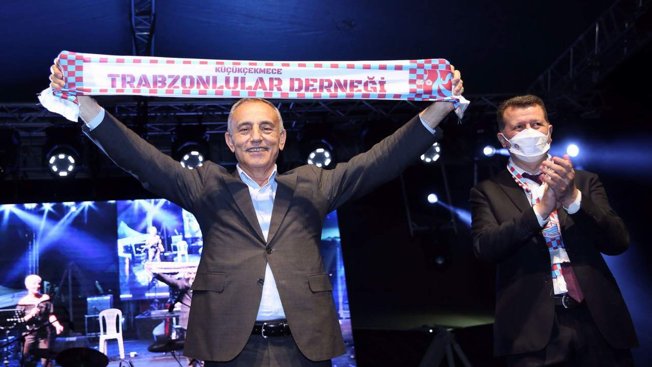 Küçükçekmece'de Trabzon rüzgarı esmeye başladı
