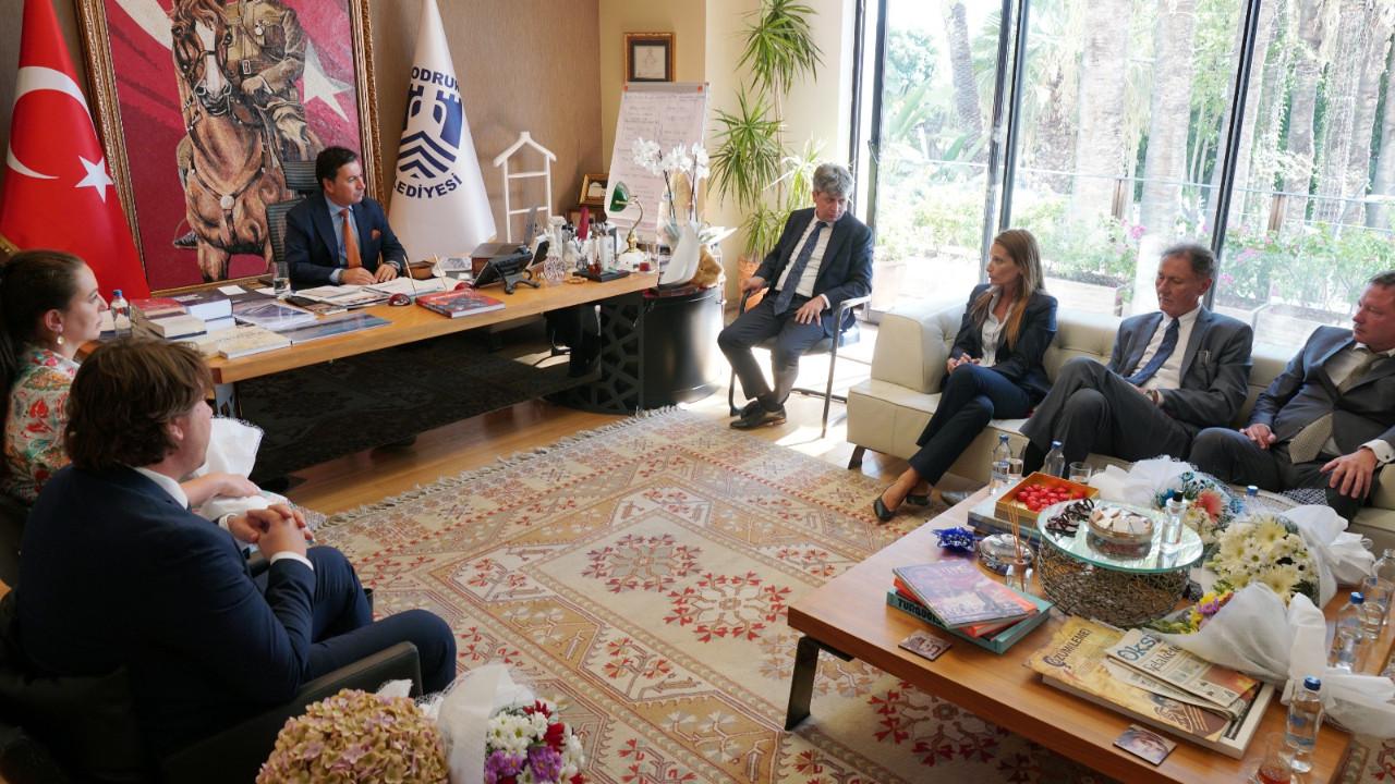 Montenegro heyetinden Bodrum'da başkan Aras'a ziyaret