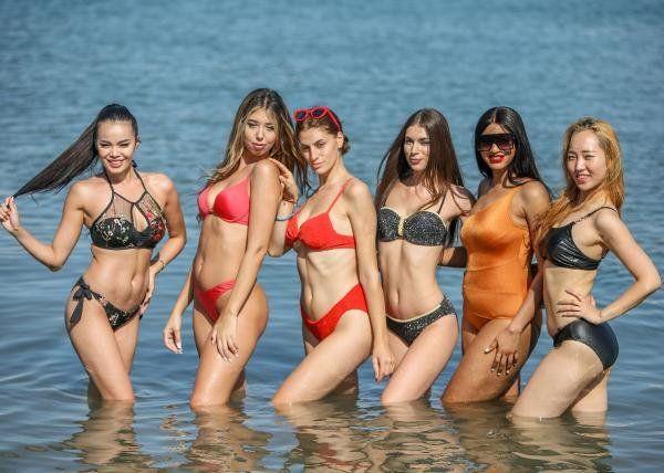 Antalya'da 40 ülkeden güzellik kraliçesi adayları denizin keyfini böyle çıkardı - Resim: 2