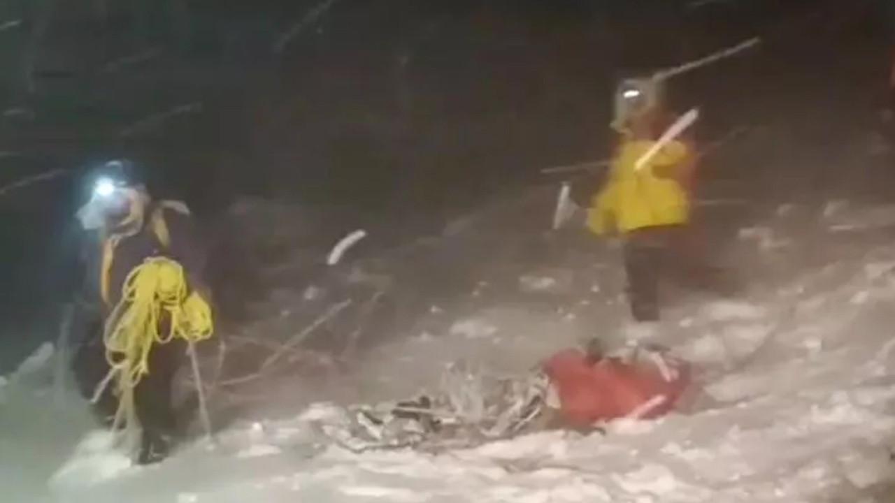 Dağın zirvesinde kabus: 5 dağcı hayatını kaybetti