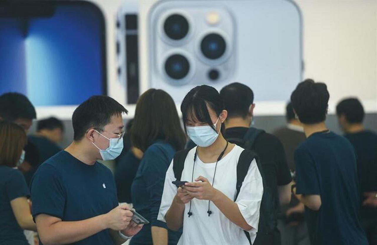 iPhone çılgınlığı başladı! Pandemi bile onları durduramadı - Resim: 4