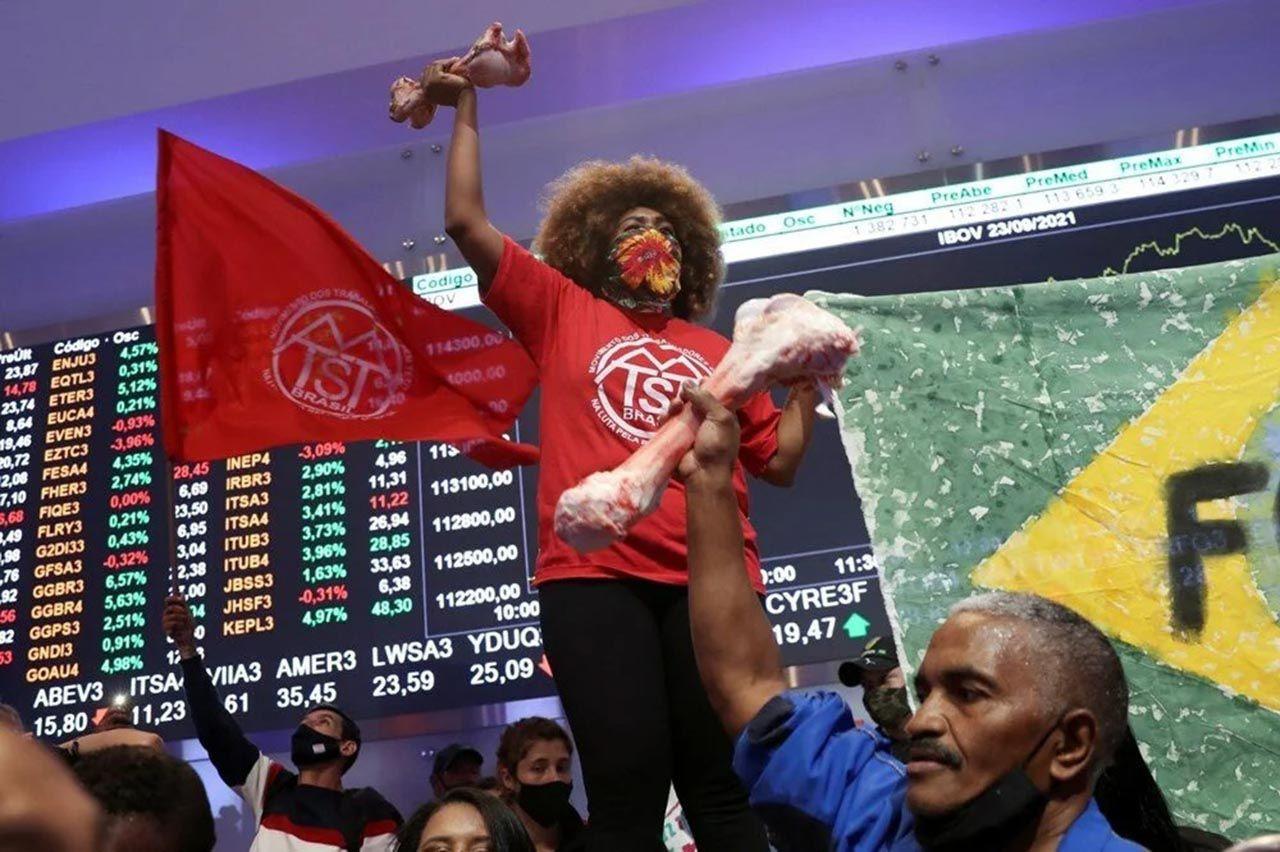 Brezilya'da halk borsayı bastı: ''Her gün milyar dolarlar kazanmanızı kabul etmiyoruz'' - Resim: 1