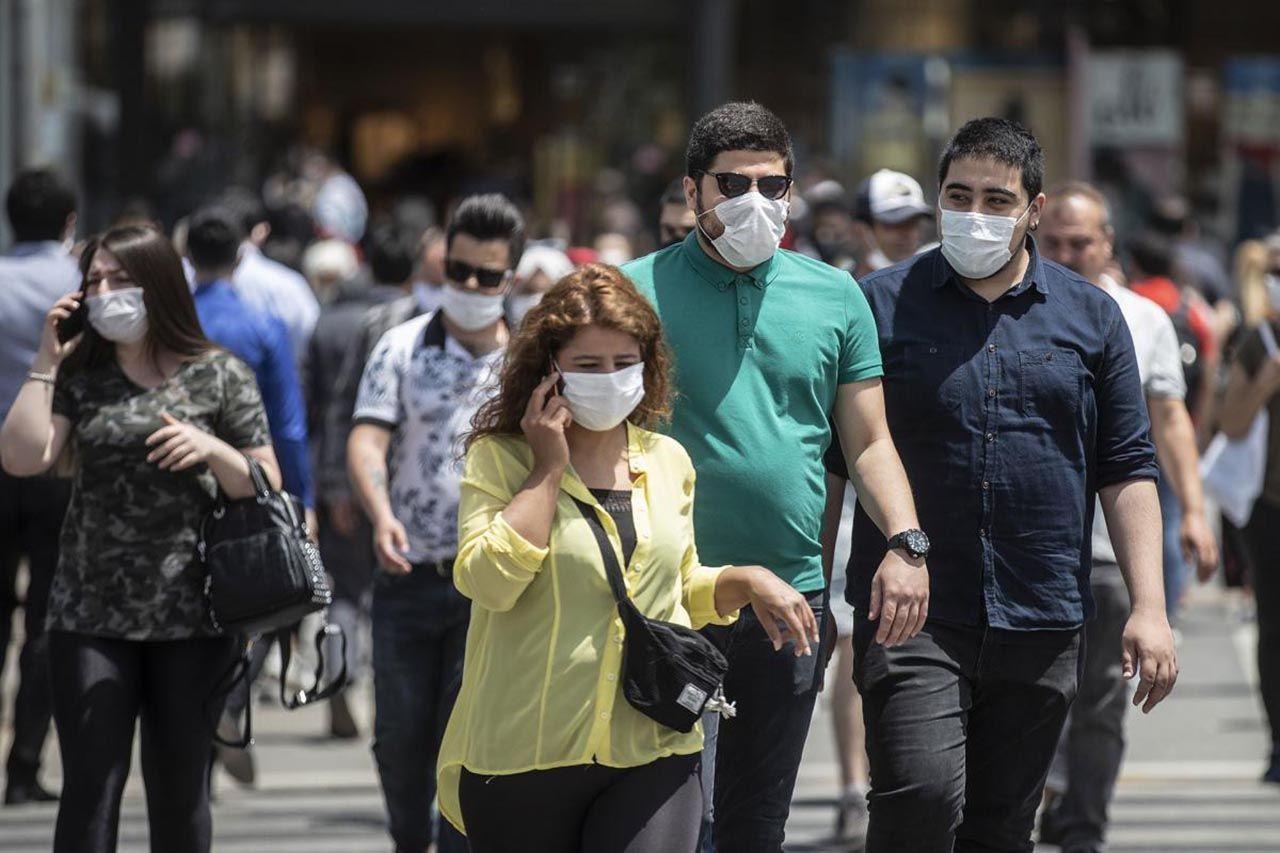 Kimsenin maske takmadığı ortamda maske kullanmak ne kadar etkili? İşte cevabı... - Resim: 3