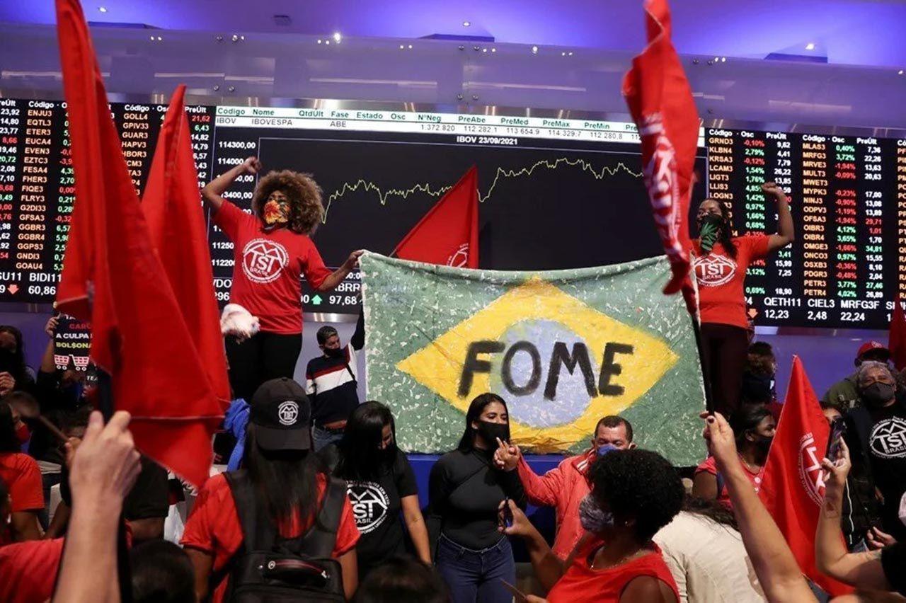 Brezilya'da halk borsayı bastı: ''Her gün milyar dolarlar kazanmanızı kabul etmiyoruz'' - Resim: 2