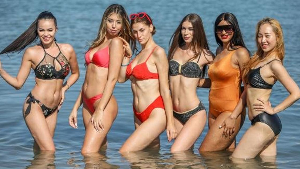 Antalya'yı gerçekten ''güzeller'' bastı! 40 ülkenin 40 güzeli Antalya'da