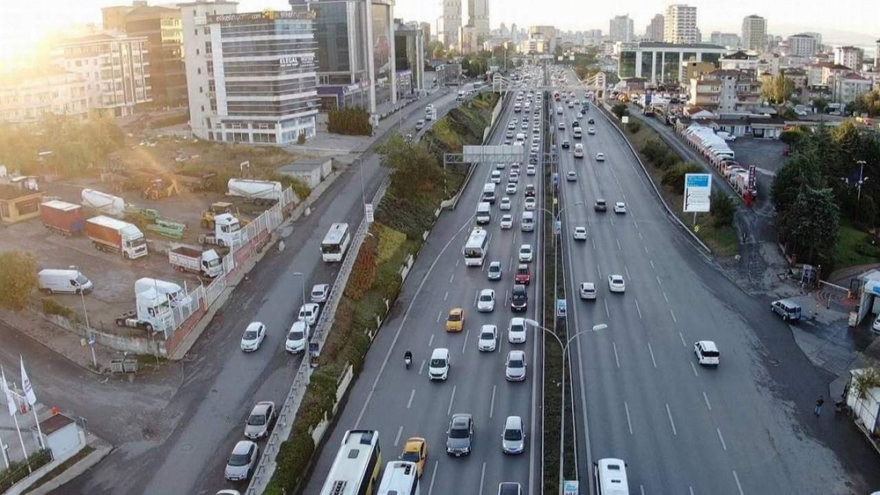 İstanbul'da trafik yine durma noktasında