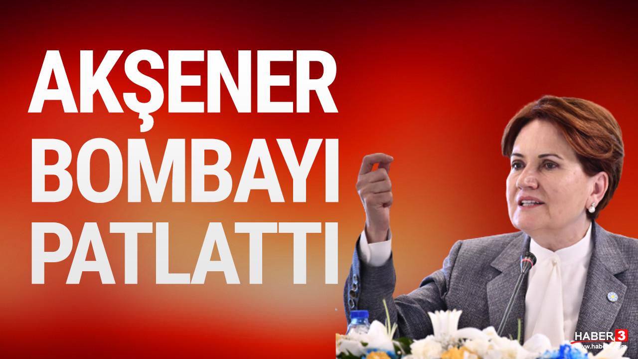Meral Akşener net bir şekilde açıkladı: Cumhurbaşkanlığına aday değilim ama...