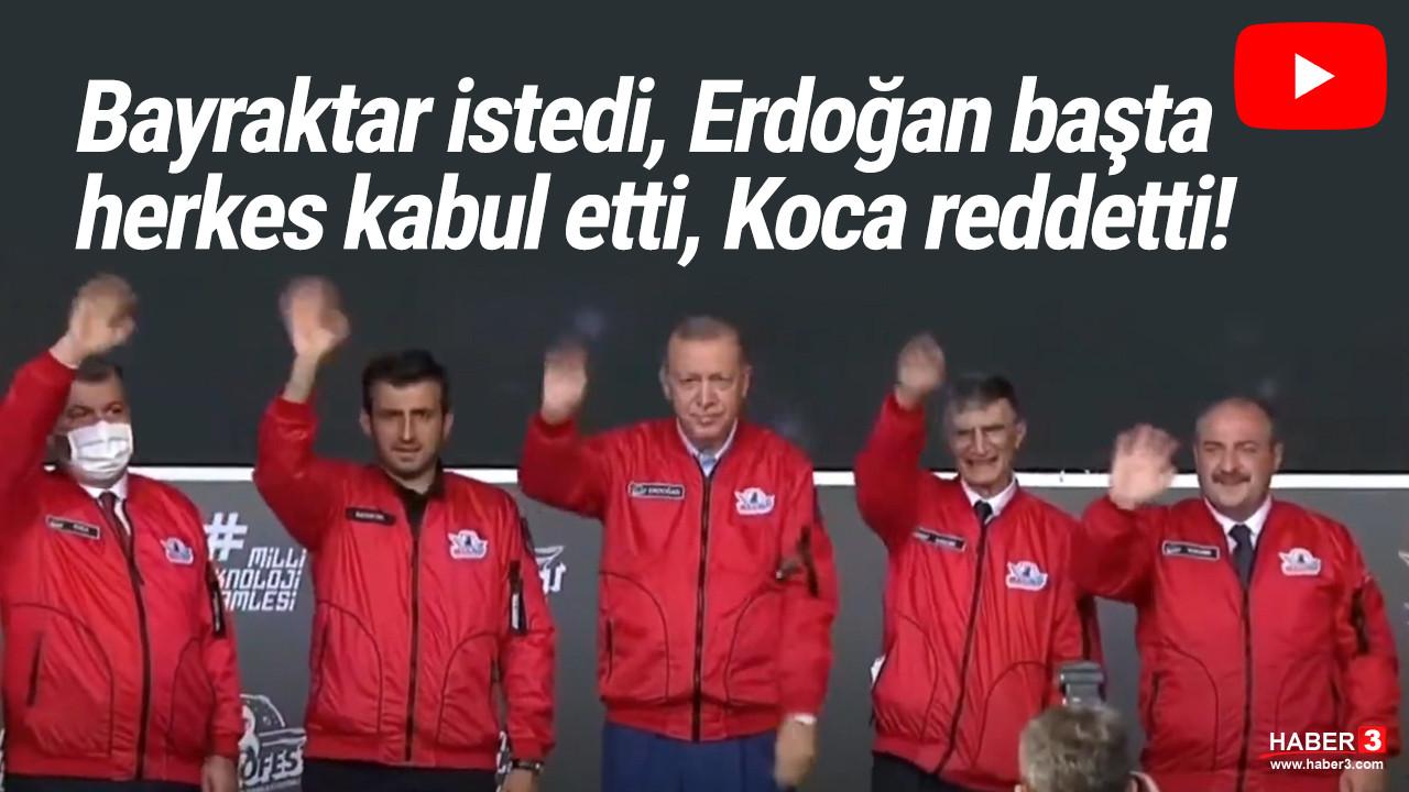 Erdoğan'ın damadı Bayraktar ile Bakan Koca arasında dikkat çeken diyalog
