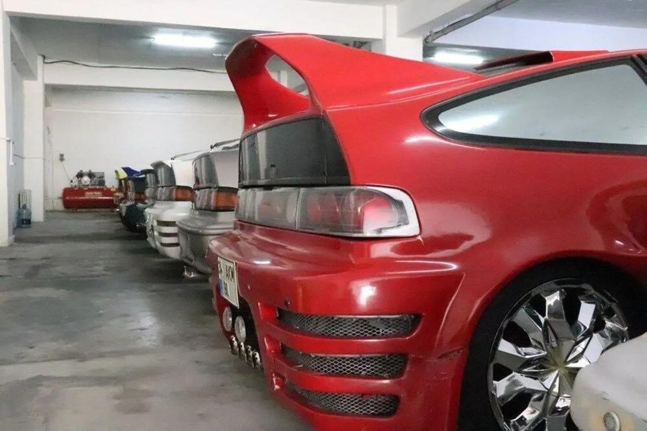 Türkiye'nin en büyük otomobil koleksiyonu satılıyor! 17 araç, 17'si de aynı araç! - Resim: 4