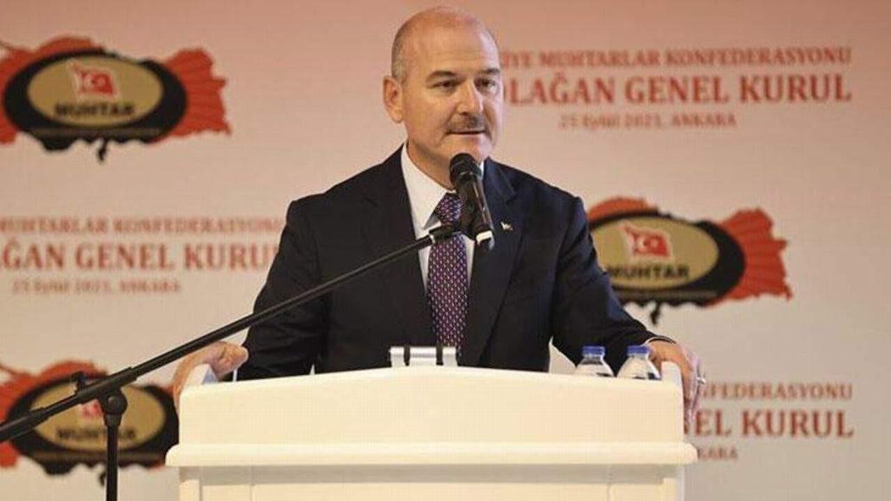 Bakan Soylu Türkiye sınırları içerisindeki terörist sayısını açıkladı