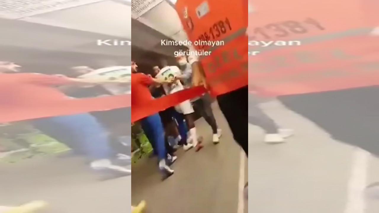 Muslera'nın Alanyasporlu futbolculara saldırı görüntüleri ortaya çıktı