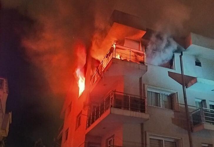 Öfkeli koca binayı ateşe verdi, mahalleli sokağa döküldü - Resim: 3