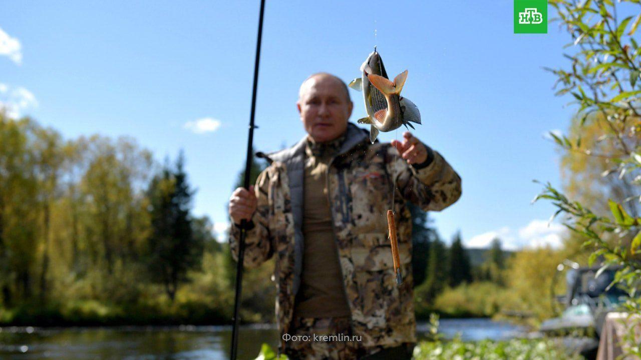 Putin'in tatil fotoğrafları gündem oldu
