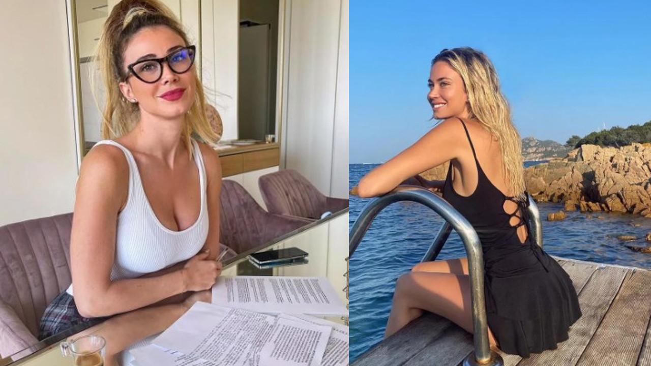Diletta Leotta iddialı pozlarıyla sosyal medyayı sallamaya devam ediyor