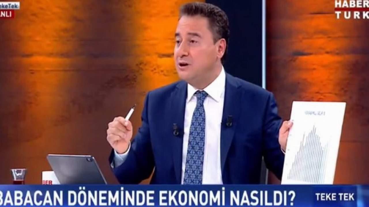 Canlı yayında ilk kez açıkladı: ''Erdoğan'a ilk istifamı 2009'da vermiştim''