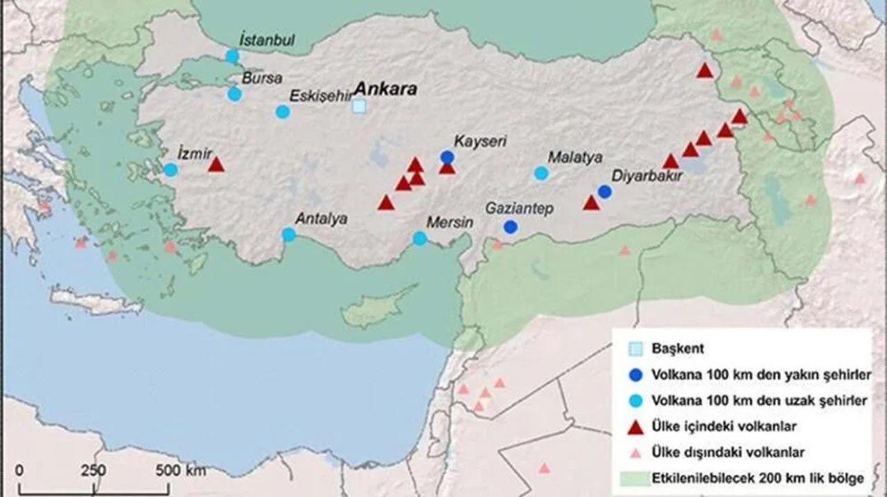 Türkiye'de yanardağ patlaması olabilir mi? Uzmanlar yanıtladı - Resim: 3