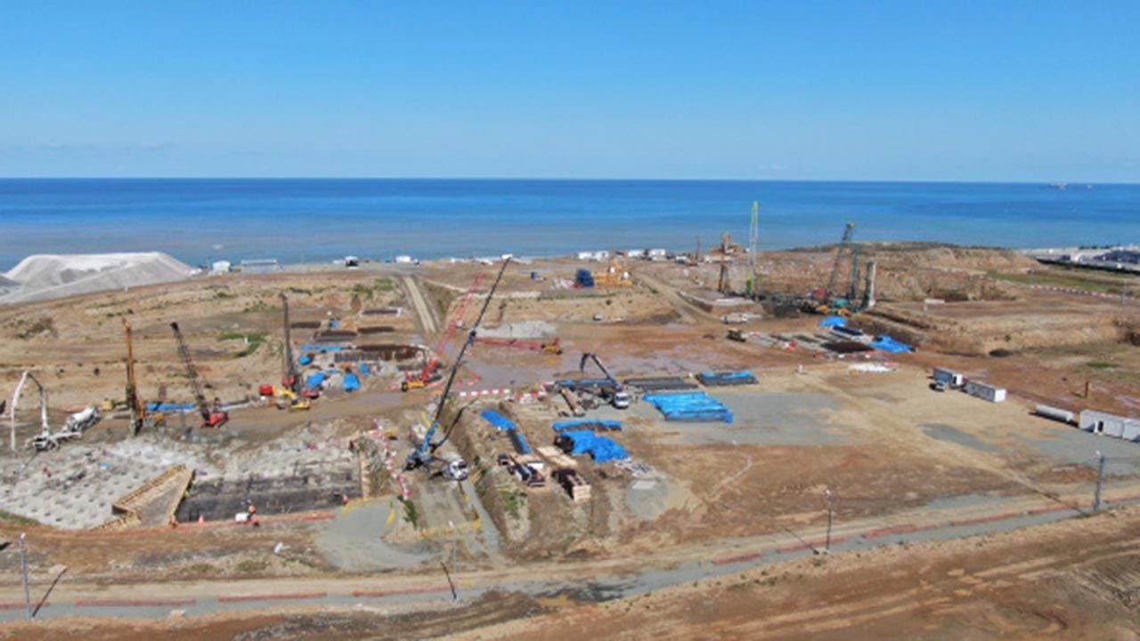 Deniz dolgusuna şehir hastanesi... İnşaatın son hali görüntülendi - Resim: 3