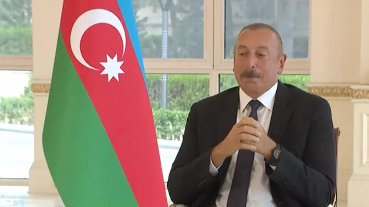 Aliyev'in zor anları! Gözyaşlarını zor tuttu