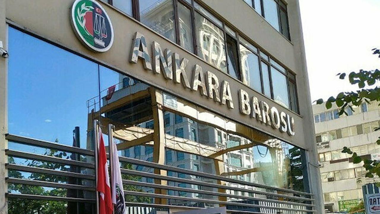 Ankara Barosu Başkanı ve yönetimine hakaret davası