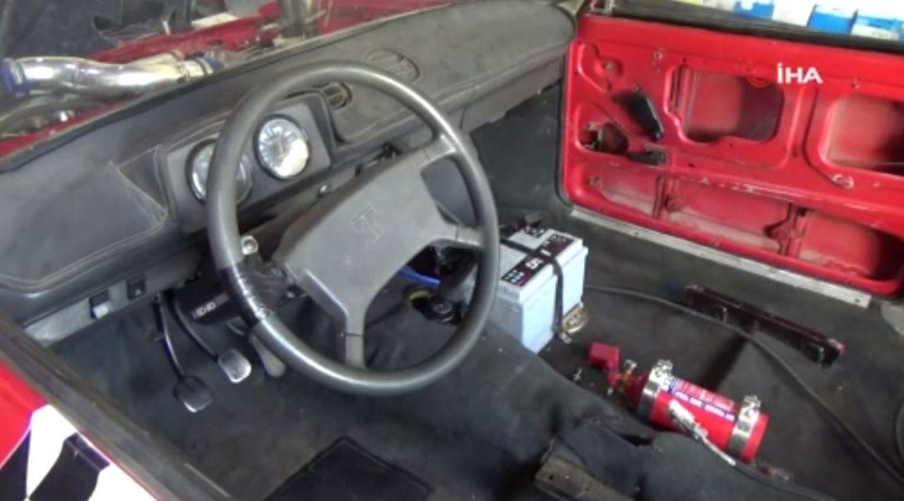 Babasının sattığı 1991 model aracı 20 yıl sonra bulup baştan yarattı - Resim: 3