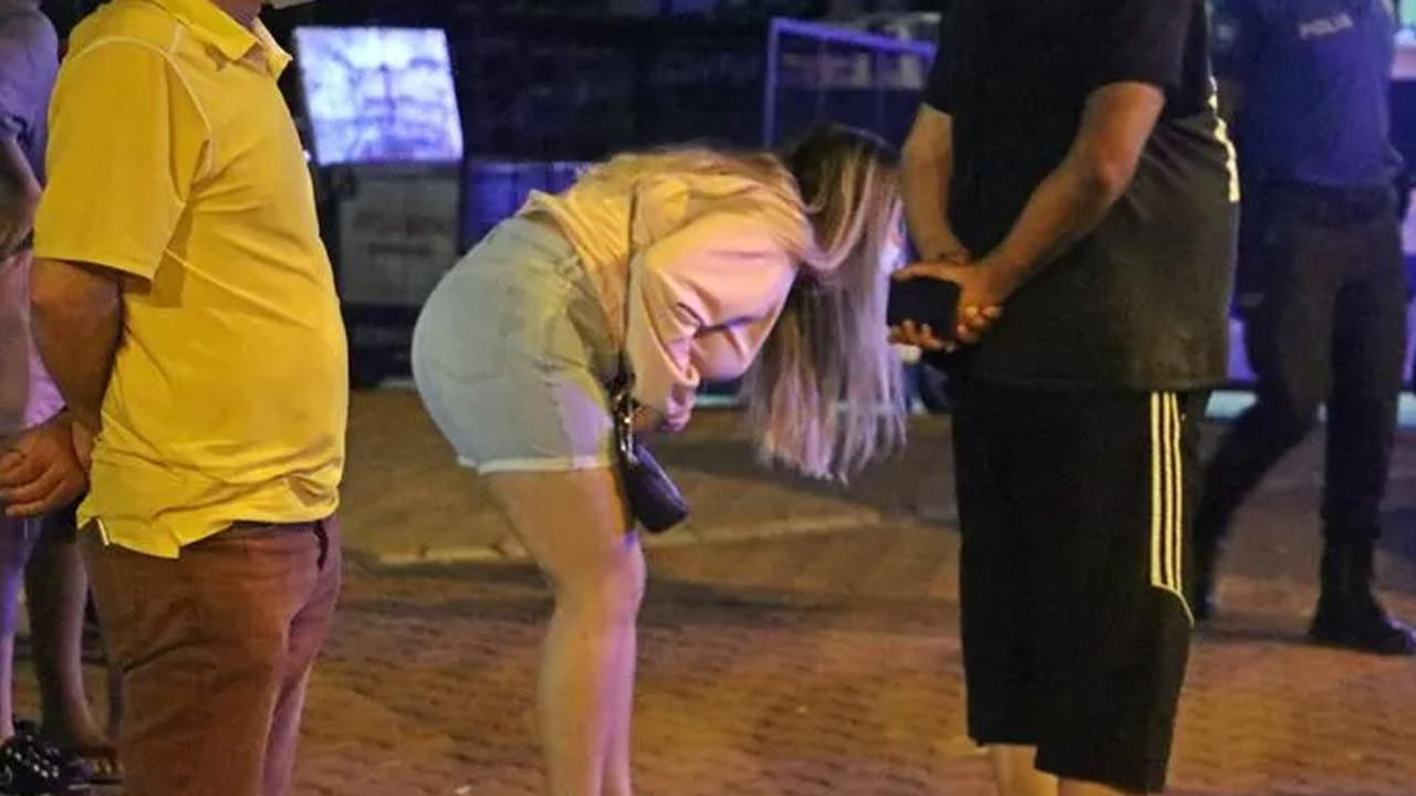 Antalya'da pes dedirten anlar: Görebilmek için adeta yarıştılar
