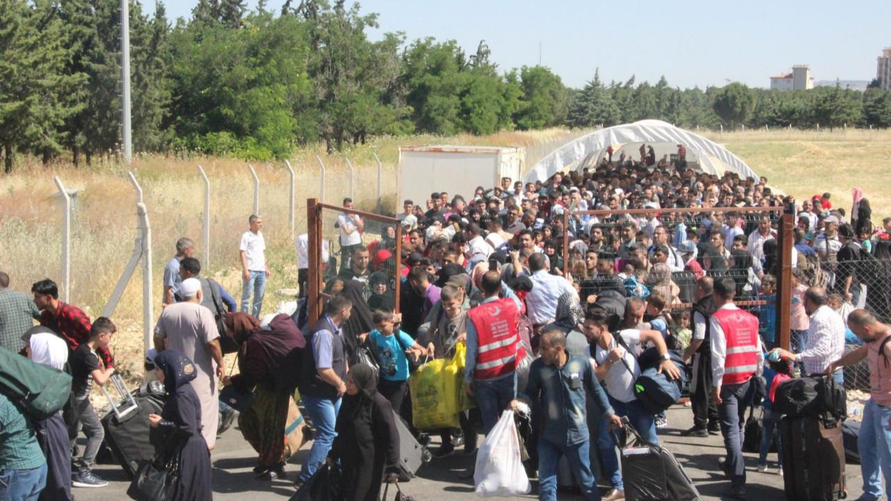 Suriye'den Suriyelilere ''ülkenize dönün'' çağrısı