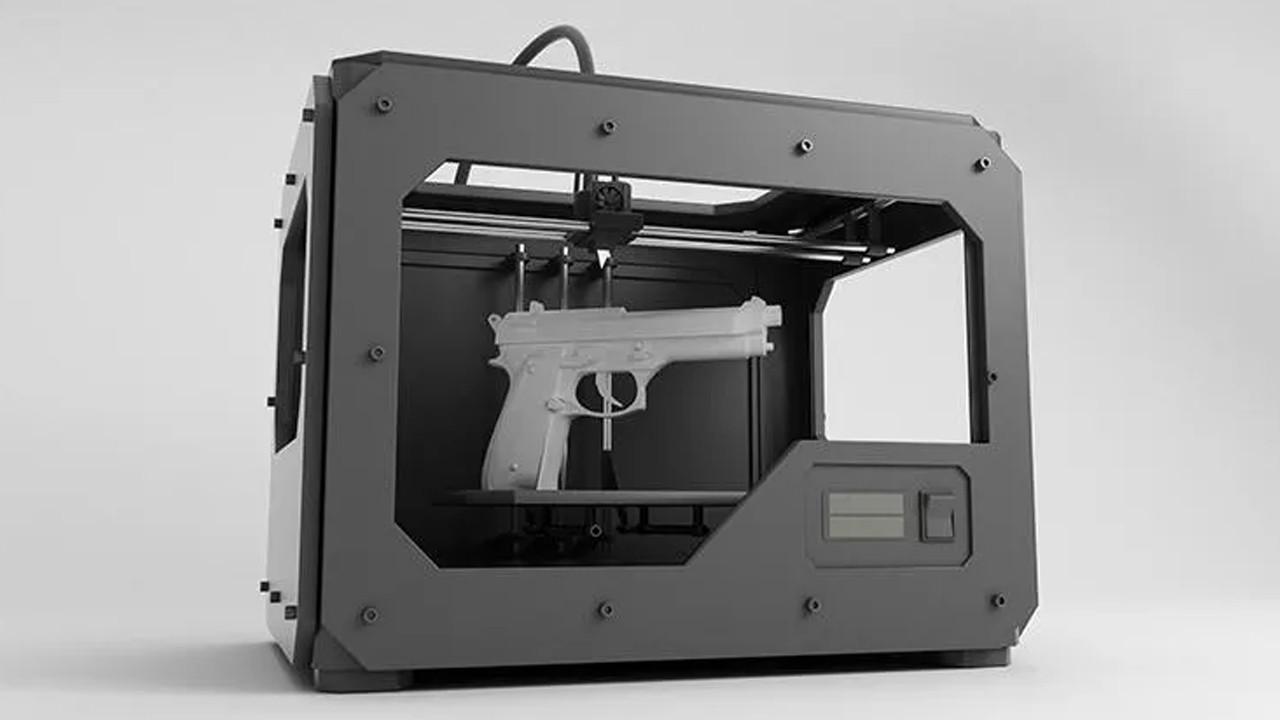 3D yazıcıyla üretilen silahlar polisi alarma geçirdi