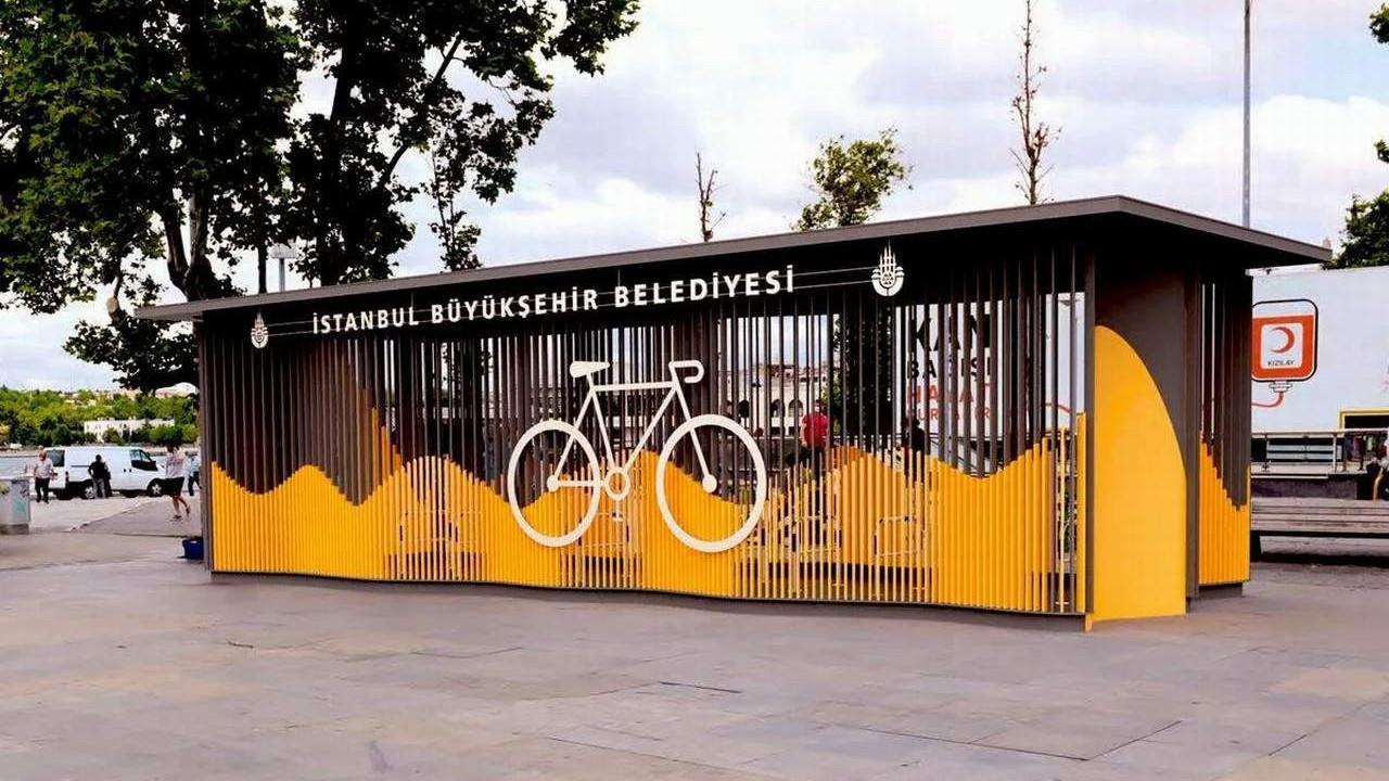 İBB'den bisikletliler için kapalı park alanı
